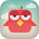 Brave Angry Bird icon