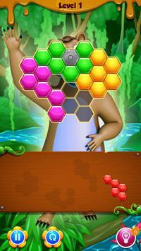 Beehive Bear: Honeycomb Hex Puzzle screenshot 2