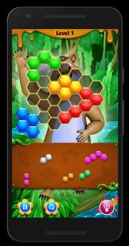Beehive Bear: Honeycomb Hex Puzzle screenshot 5