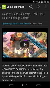 Uutisia Clash of Clansistä apk screenshot