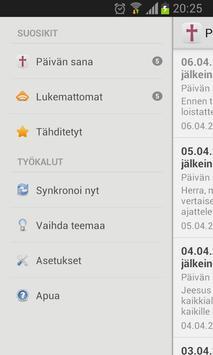 Päivän sana apk screenshot