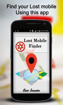 Lost/Stolen Mobile Finder poster