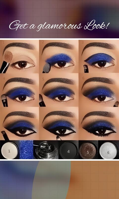 ... Eye Makeup Step By Step Bridal Makeup at home screenshot 11 ...