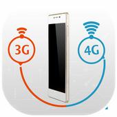 3G to 4G Converter:Prank icon