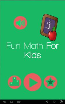 Fun Math For Kids poster