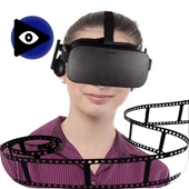 VR video converter/player icon