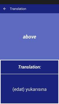 English Turkish Dictionary screenshot 2