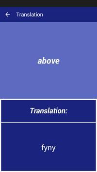 English Welsh Dictionary screenshot 2