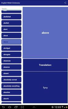 English Welsh Dictionary screenshot 4