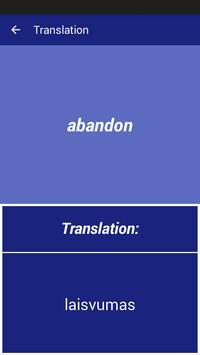English Lithuanian Dictionary apk screenshot