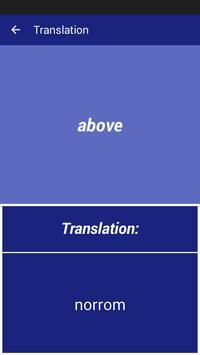 English Swedish Dictionary apk screenshot