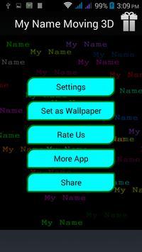 My Name Moving 3d screenshot 2