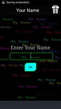 My Name Moving 3d screenshot 3