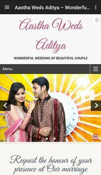 Aastha Weds Aditya poster