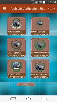 Vehicle Verification All Pakistan 2017-18 screenshot 2