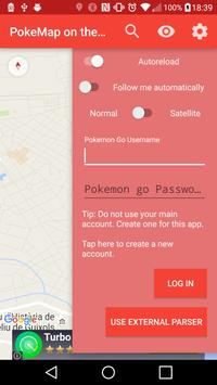 PokeMap on the Go poster