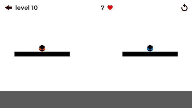 stickman the Ball: slide puzzle apk screenshot