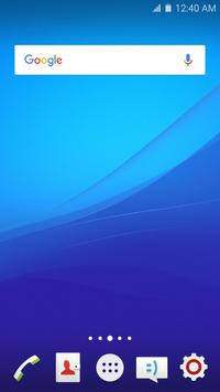 Wave Z4 Launcher Theme poster