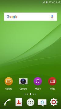 Wave Z4 Launcher Theme screenshot 1