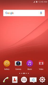 Wave Z4 Launcher Theme screenshot 3