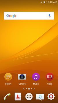 Wave Z4 Launcher Theme screenshot 4