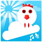 Chicken Scream Fall icon