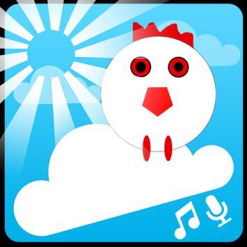 Chicken Scream Fall poster