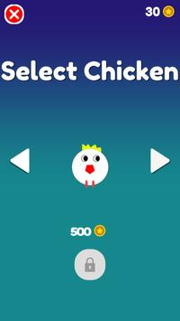 Chicken Scream Fall apk screenshot