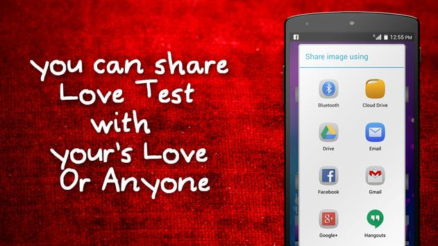 Lover calculaotr Prank apk screenshot