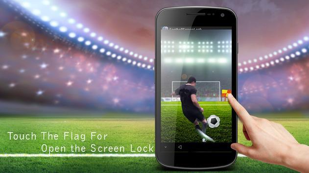 soccer screen locker poster