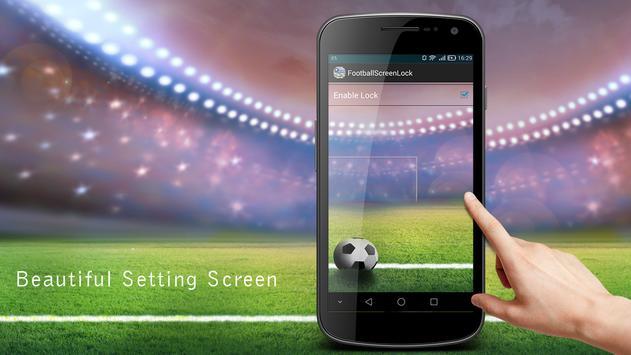 soccer screen locker apk screenshot