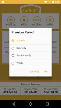 CareShield Premium Calculator apk screenshot