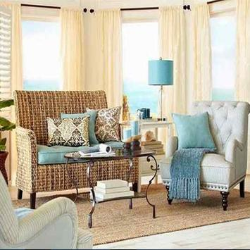 Beach Cottage Decorating Ideas poster