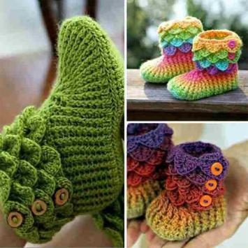 Crochet Baby Boots Ideas screenshot 27