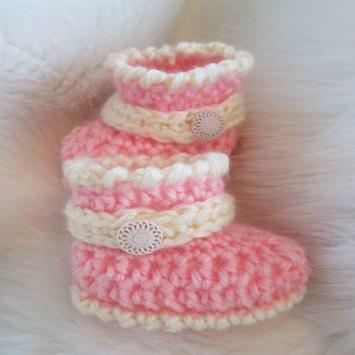 Crochet Baby Boots Ideas screenshot 31