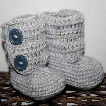 Crochet Baby Boots Ideas screenshot 7