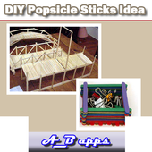 DIY Popsicle Sticks Idea icon