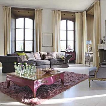 Luxurious Living Room Curtains apk screenshot