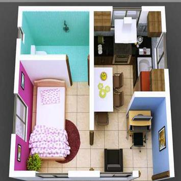 New 3D Small Home Plan screenshot 9