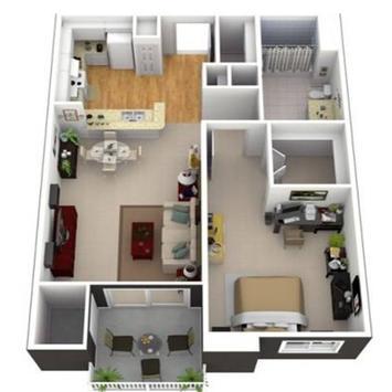 New 3D Small Home Plan screenshot 10