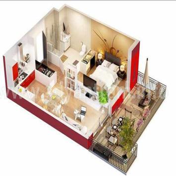 New 3D Small Home Plan screenshot 13