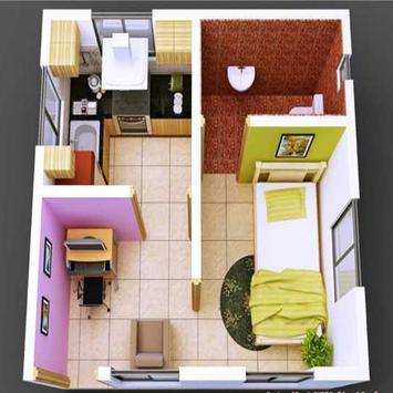 New 3D Small Home Plan screenshot 17