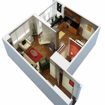 New 3D Small Home Plan screenshot 19