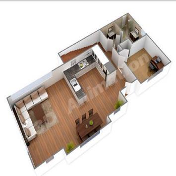 New 3D Small Home Plan screenshot 22
