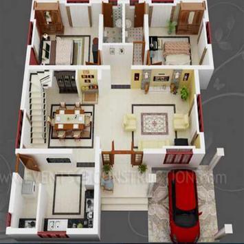 New 3D Small Home Plan screenshot 27