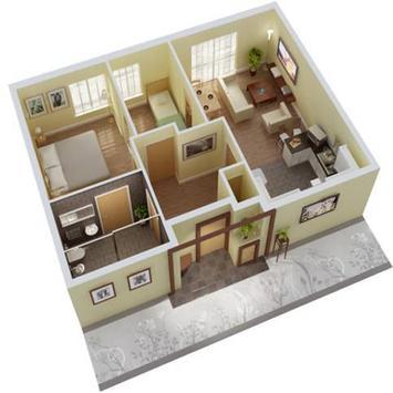 New 3D Small Home Plan screenshot 1