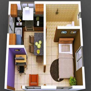New 3D Small Home Plan screenshot 3