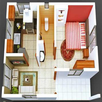 New 3D Small Home Plan screenshot 5