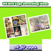 Old Bird Cage Decorating Ideas icon