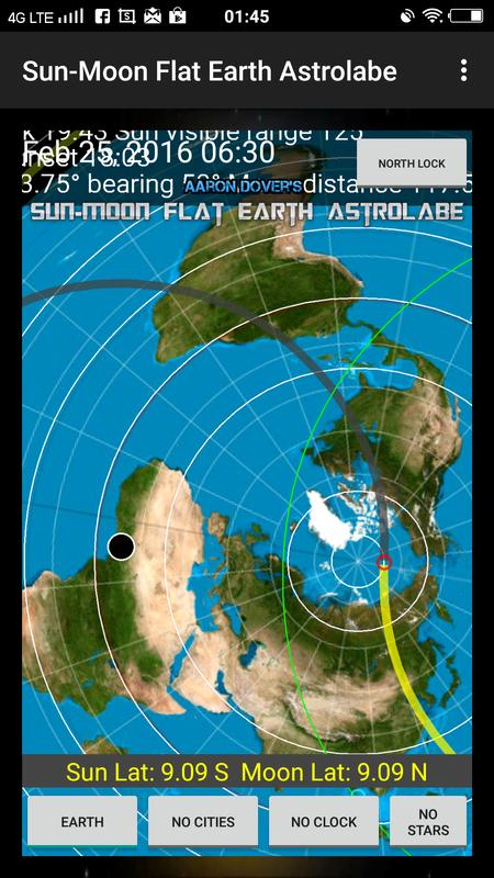 Flat Earth Map Download.Sun Moon Flat Earth Astrolabe For Android Apk Download